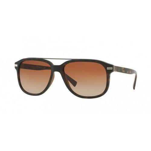 Okulary Słoneczne Burberry BE4233 MR. BURBERRY 353613, kolor żółty