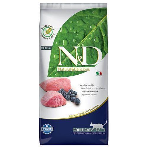n&d prime - jagnięcina i borówka 1,5kg marki Farmina