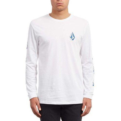 Koszulka - deadly stone bsc ls white (wht) rozmiar: xl, Volcom