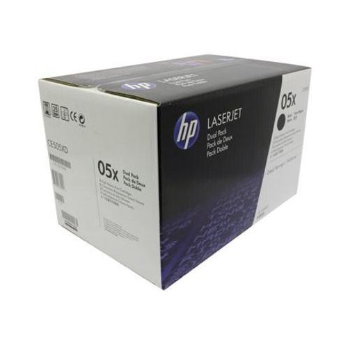 Hewlett-packard (hp) Tonery oryginalne hp 05x (ce505xd) (czarne) (dwupak) - darmowa dostawa w 24h