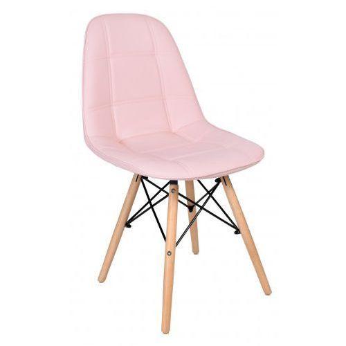 Krzesło king różowe marki Krzeslaihokery
