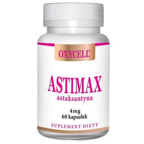 Kapsułki Astimax oxycell astaksantyna 4 mg 60 kapsułek przeciwutleniacz – ANANDA