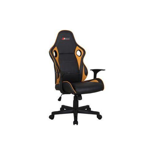 Fotel Signal CARRERA gamingowy czarny/żółty