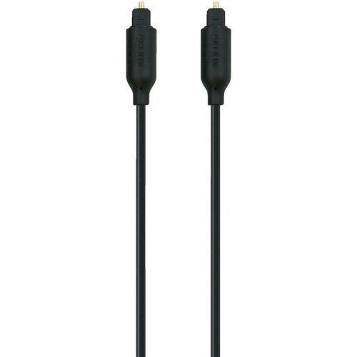 Kabel audio cyfrowy Toslink Belkin F3Y093bf2M F3Y093bf2M, [1x złącze męskie Toslink (ODT) - 1x złącze męskie Toslink (ODT)], 2 m, czarny