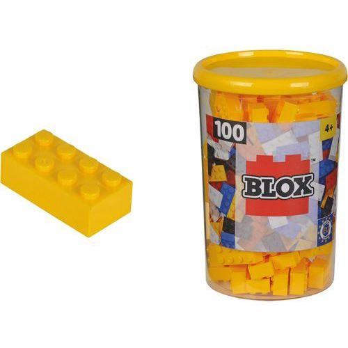 SIMBA Blox 100 Klocki w pojemniku – żółte