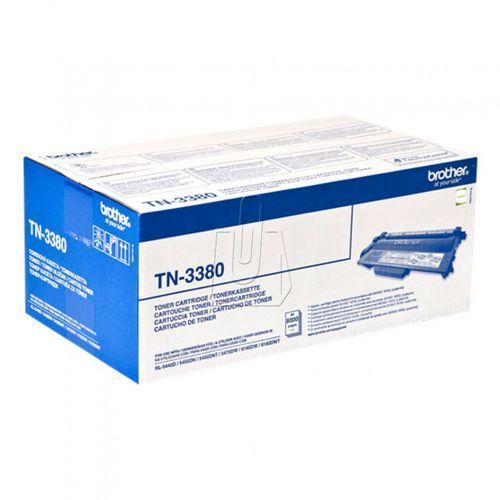 Brother oryginalny toner TN3380, black, 8000s, Brother HL-5440D, HL-5450DN, HL-5470DW, HL-6180