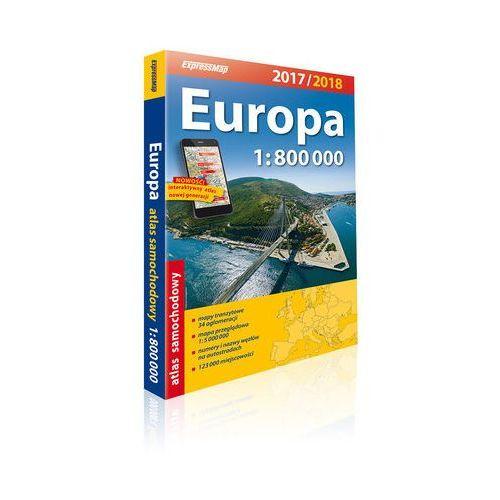 Europa atlas samochodowy 1:800 000 - Darmowa dostawa!