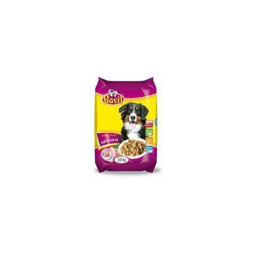 Karma dla psa z drobiem Basil Dry 10 kg (5906731508141)