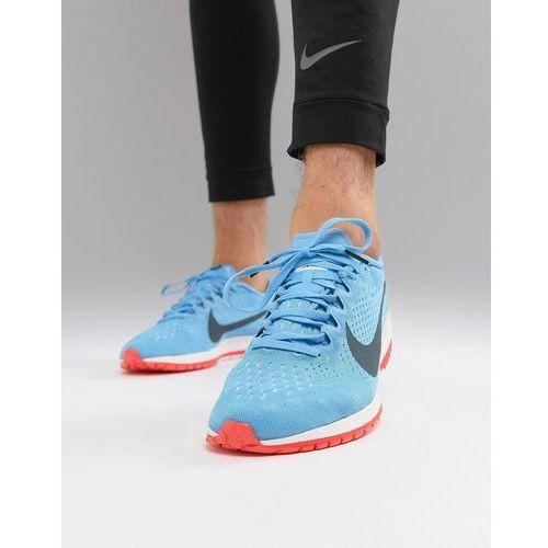 air zoom streak 6 racing trainers in blue 831413-446 - blue, Nike running