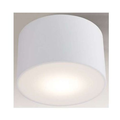 Shilo Plafon lampa sufitowa zama 1129/led/bi  natynkowa oprawa led 15w tuba biała