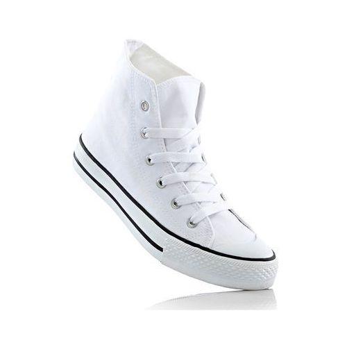 Wysokie sneakersy biały marki Bonprix