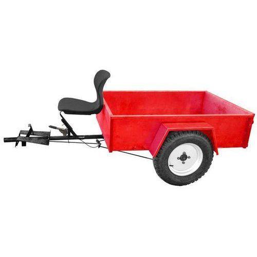 Hecht czechy Hecht 57100 przyczepa przyczepka ogrodowa wozidło wózek ogrodowy do traktorka 500kg ewimax-oficjalny dystrybutor - autoryzowany dealer hecht (8595614905701)