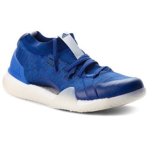Buty - pureboost x trainer 3.0 da8967 mysblu/aerblu/hirblu marki Adidas