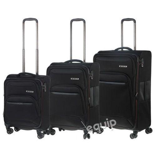 OKAZJA - Travelite Zestaw walizek  kendo lite - czarny, kategoria: torby i walizki