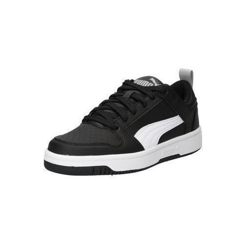 Puma buty sportowe 'puma rebound layup lo sl jr' czarny / biały (4060981157175)
