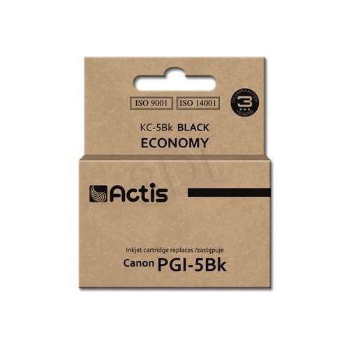 Actis Tusz  kc-5bk (do drukarki canon, zamiennik pgi-5bk standard 26ml czarny chip)