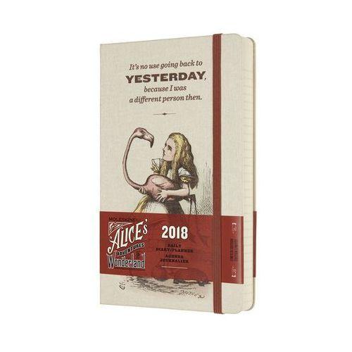 Moleskine Kalendarz 2018 dzienny 12m alicja l