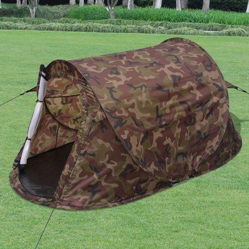 dwuosobowy namiot w kolorze moro marki Vidaxl