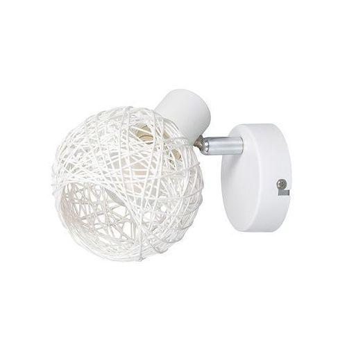 Rabalux hazel 5617 kinkiet lampa ścienna spot 1x15w e14 biały mat