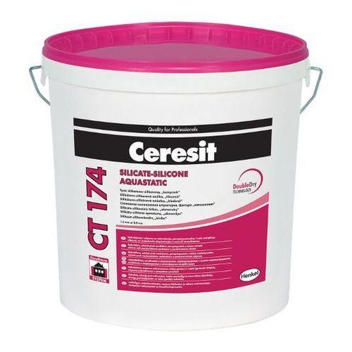Baza tynk silikatowo-silikonowy Ceresit CT174 1 5 mm 25 kg
