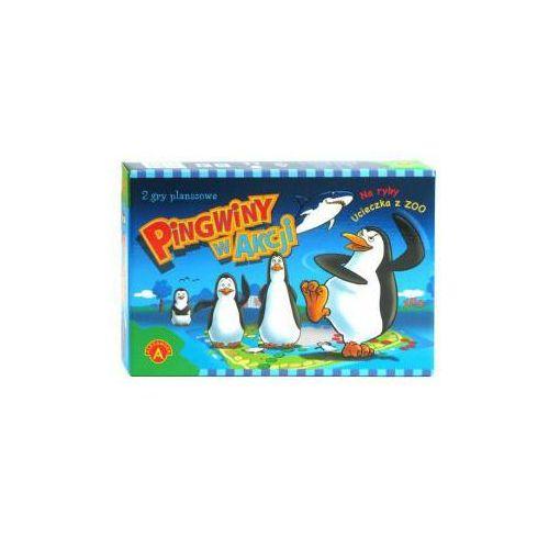 Alexander Pingwiny w akcji. 2 gry planszowe