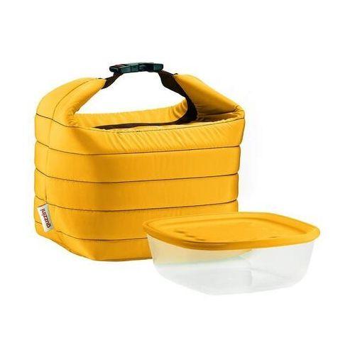 Torba termiczna z pojemnikiem on the go pomarańczowa marki Guzzini