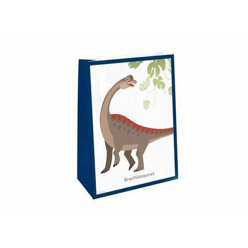 Torebki prezentowe z naklejkami Dinozaury - 4 szt. (0013051873981)