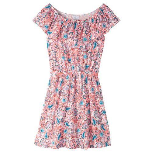 26da1e3f45 Sukienka z dekoltem   34 carmen  34  bon... Producent bonprix  Kolor biały
