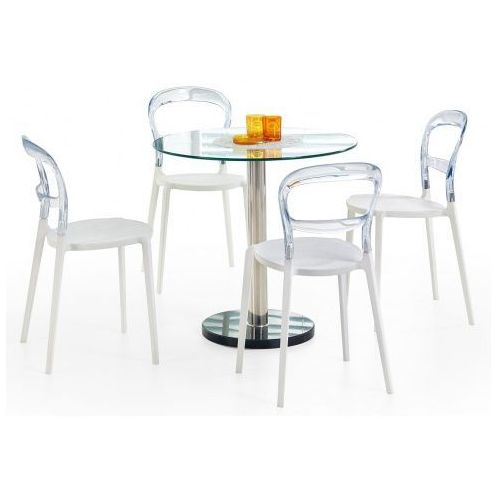 Marmurowy stół ze szklanym blatem Boris, V-CH-CYRYL-ST