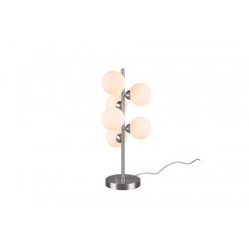 Lampa stołowa Trio Leuchten ALICIA Nikiel matowy, 6-punktowe - Dworek/Vintage - Obszar wewnętrzny - ALICIA - Czas dostawy: od 3-6 dni roboczych