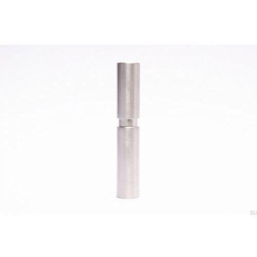 Świecznik Cylinder - Szczotkowana Stal Nierdzewna 30X170
