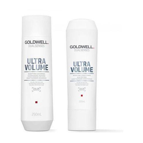 Goldwell ultra volume zestaw nadający objętość  szampon 250ml, odżywka 200ml