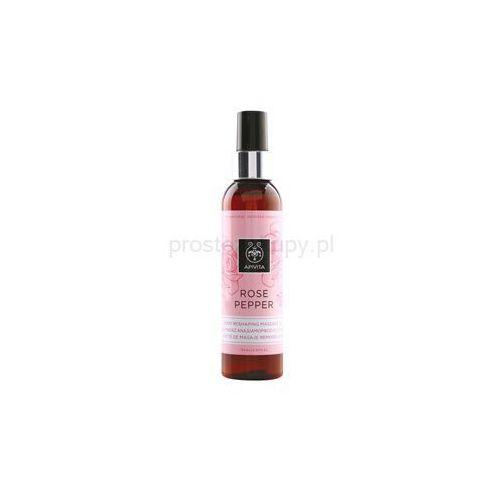 Apivita Rose Pepper Ujędrniający olejek do masażu przeciw cellulitowi + do każdego zamówienia upominek.