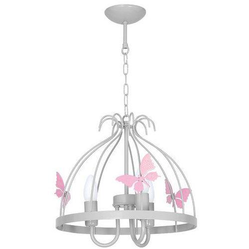 Eko-light 1170 lampa wisząca kago szara