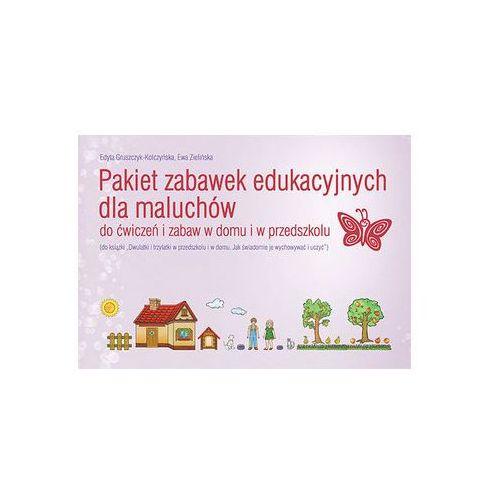 Pakiet zabawek edukacyjnych dla maluchów Gruszczyk-Kolczyńska Edyta, Zielińska Ewa