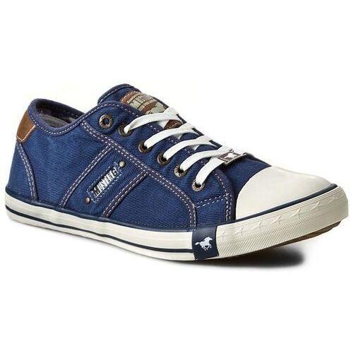 Trampki MUSTANG - 36A034 Jeansblau, kolor niebieski