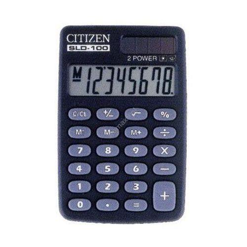Kalkulator sld 100 marki Citizen