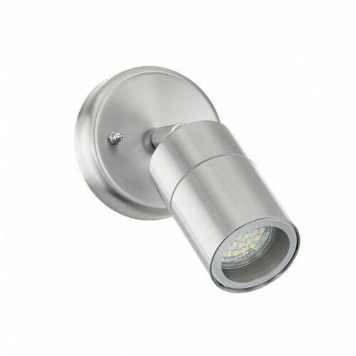 Kinkiet sitia 95988 lampa ścienna 2x4,8w led antracyt/biały marki Eglo