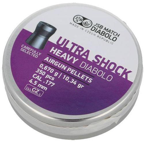 Jsb Śrut diabolo heavy ultra shock 4.52mm 350szt (546268-350) (2010000144930)