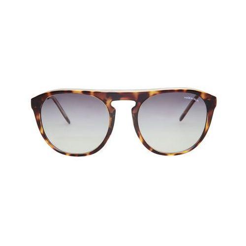 Okulary przeciwsłoneczne męskie MADE IN ITALIA - PANTELLERIA-68, kolor żółty