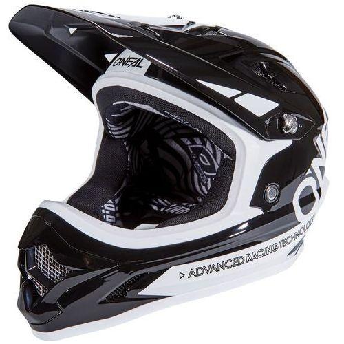 backflip rl2 bungarra kask rowerowy biały/czarny 55-56 cm 2018 kaski rowerowe marki Oneal
