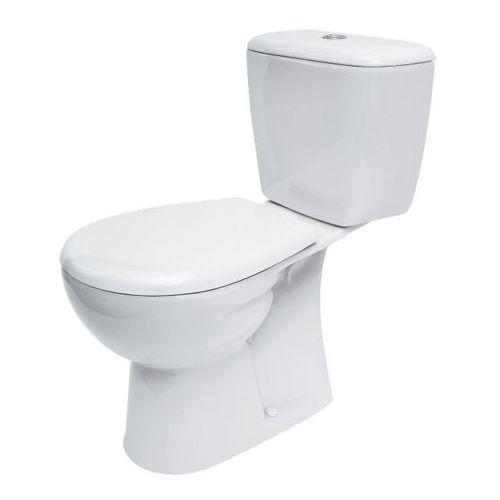 Kompakt WC Cersanit Nevada 3/6 l pionowy z deską wolnoopadającą (5907720684358)