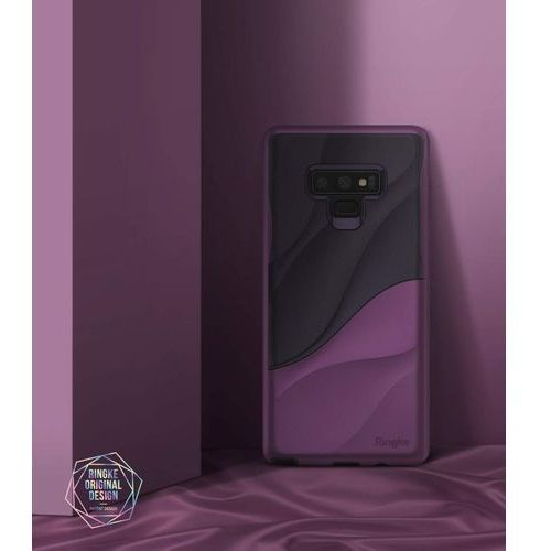 Rearth Etui ringke wave samsung galaxy note 9 metallic purple - fioletowy (8809611509757)