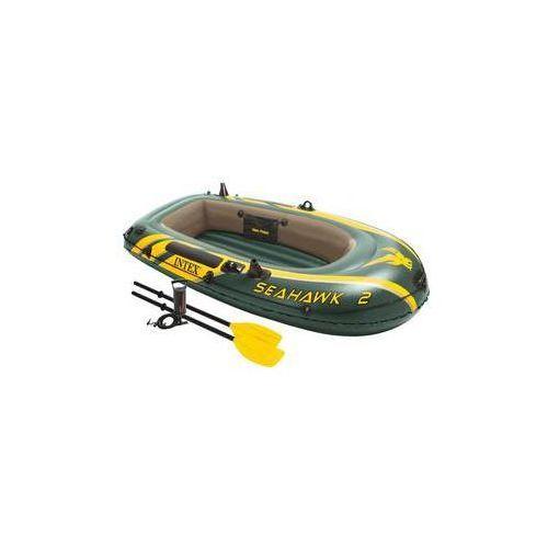 Intex Ponton seahawk 2 set, wiosła + pompa