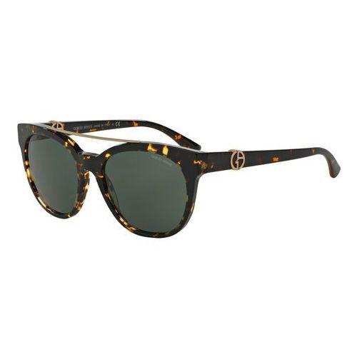 Okulary Słoneczne Giorgio Armani AR8050F Asian Fit 529471, kolor żółty