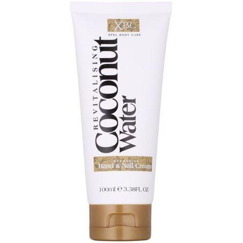Xpel xbc  hand & nail cream - intensywnie nawilżający krem do rąk i paznokci 100ml marki Coconut water