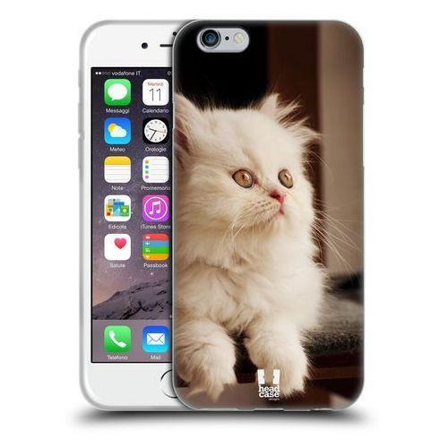 Etui silikonowe na telefon - Popularne Rasy Kotów Pers Biały, kolor biały