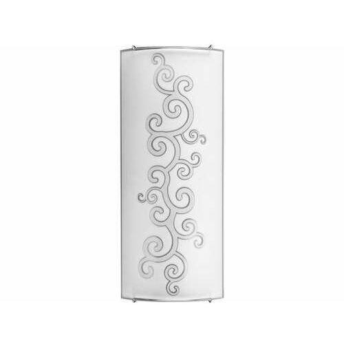 Plafon lampa sufitowa Nowodvorski Arabeska silver 2x60W E14 biały / szary 3697 - WYPRZEDAŻ - ostatnie sztuki (2019762202940)