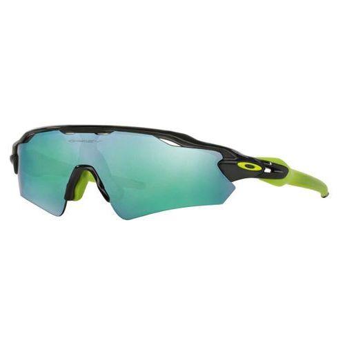Okulary Słoneczne Oakley OO9275 RADAR EV PATH Asian Fit Polarized 927507, kolor żółty
