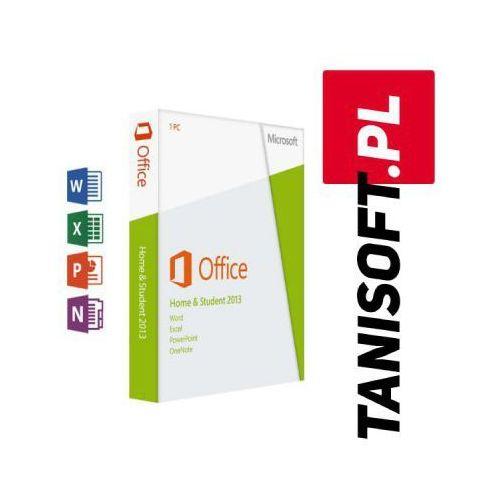 Microsoft Office 2013 dla użytkowników domowych i uczniów win polska wersja językowa!